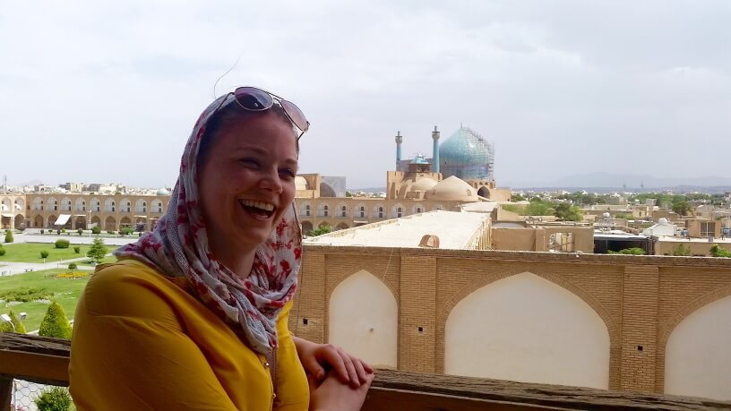 iran tour package visit travel iran things to know before traveling to facts information visa woman happy in isfahan