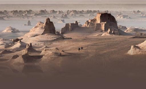 shahdad kaluts lut desert dasht e lut iran deserts kavir picture kaluts