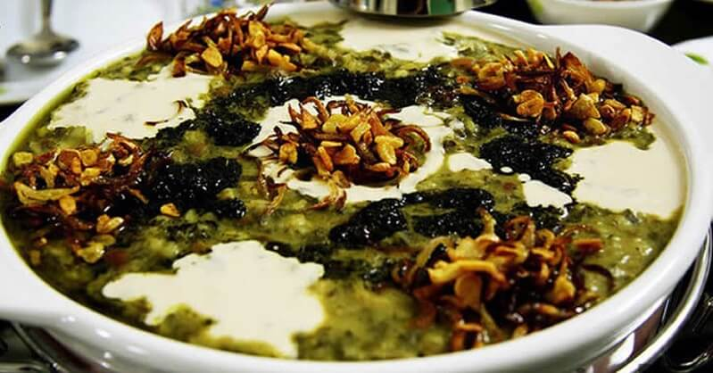 Ash(Iranian soup)-Iranian dishes-Iran Culture