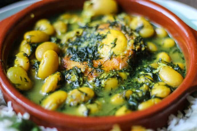 Baghali Ghatogh-Iranian dishes-Iran Culture