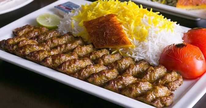 Kabab koobideh-Iranian dishes-Iran Culture