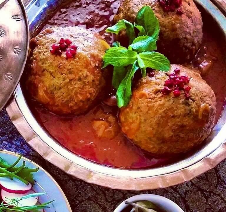 Kufteh Tabrizi-Iranian dishes-Iran Culture