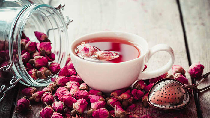 Gol-e Mohamadi (Damask Rose Tea)-Iranian Beverages-Iran culture
