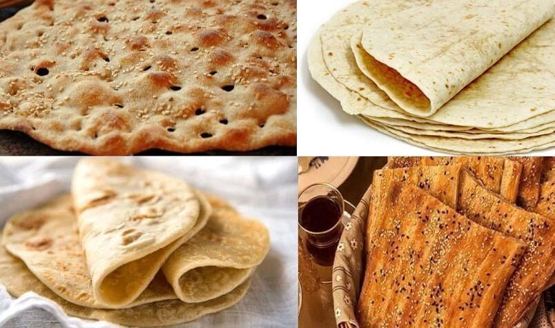 Persian Bread-Iranian food-Iran culture
