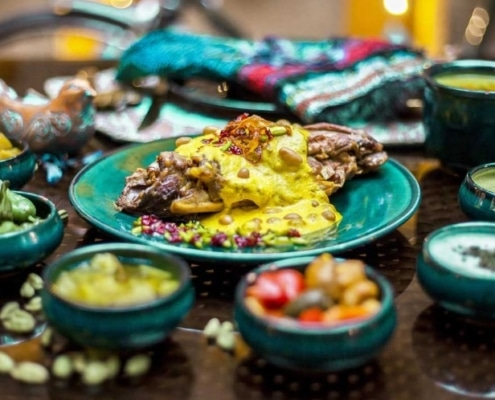 Persian appetizers and side dishes-Iranian food-Iran culture