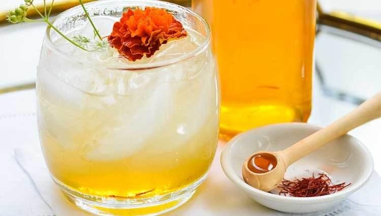 Sharbat-e Zaferan (Saffron Syrup)-Iranian Beverages-Iran culture