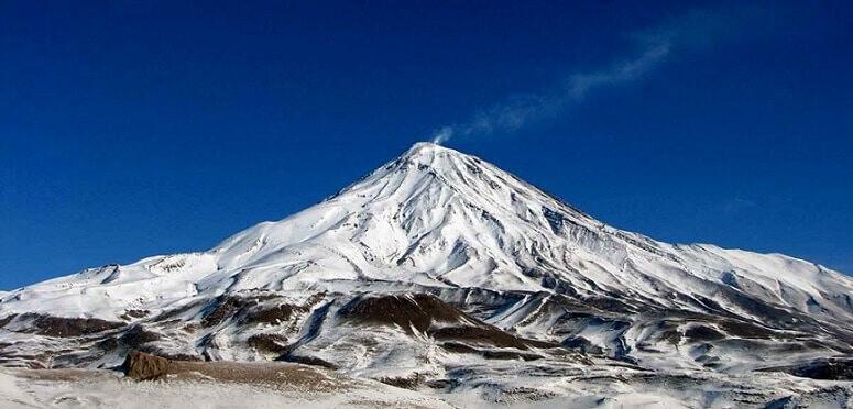 Mount Damavand-Volcanic Seven Summits-climb Mount Damavand mountain trekking summit height facts