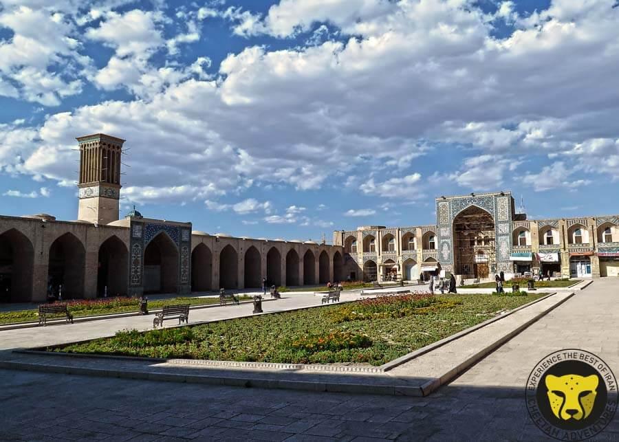 Ganjali Khan square Kerman travel guide iran tour package trip cheetah adventures visit iran tour package travel iran trip