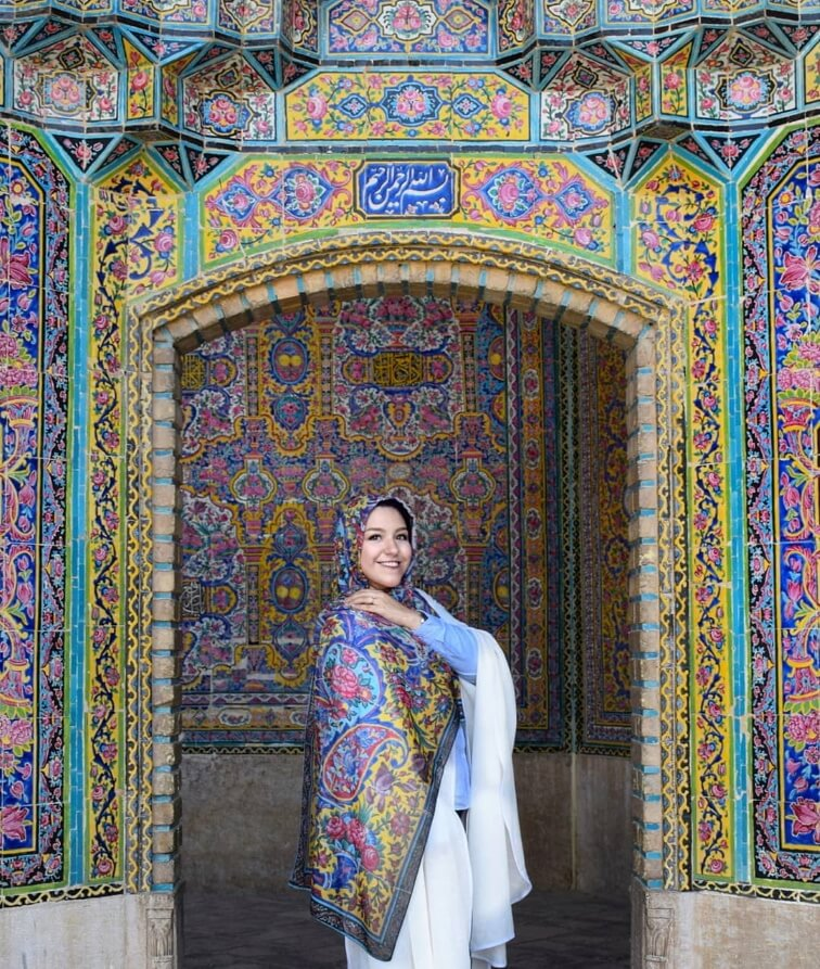 Iran safety visit iran cultural tour package travel people happy family girl woman safe 3