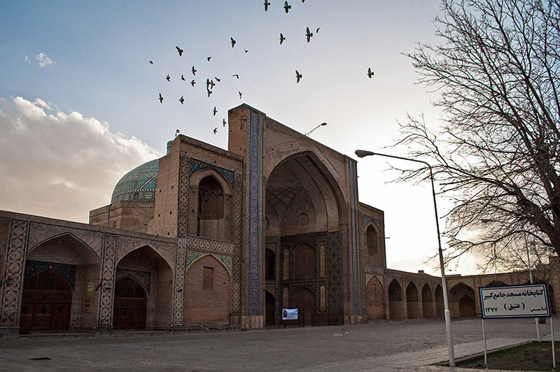 Jameh Mosque (Masjed-e Jameh) visit iran tour travel guide attractions things to do destinations Cheetah adventures
