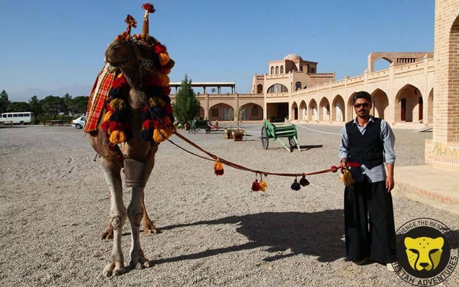 Matin abad desert camp cultural tour visit iran tour package travel iran trip