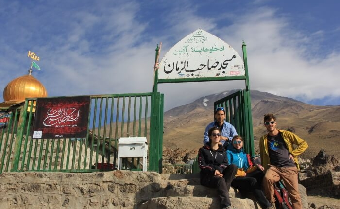Mount Damavand Mountain Tour Damavand facts information Mosque in Goosfandsara Basecamp (3000m)
