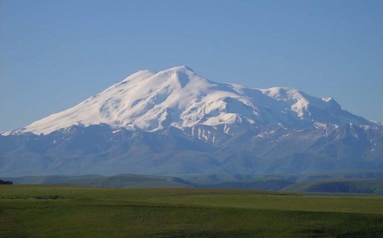 Mount Elbrus-Volcanic Seven Summits-climb Mount Damavand mountain trekking summit height facts