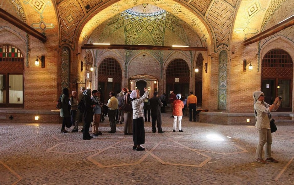 Qazvin Bazaar (covered bazaar) visit iran tour travel guide attractions things to do destinations Cheetah adventures