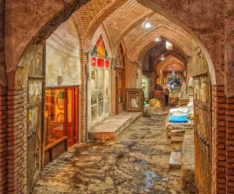 Tabriz Bazaar iran Cultural tour travel visit iran destination guide cheetah adventure