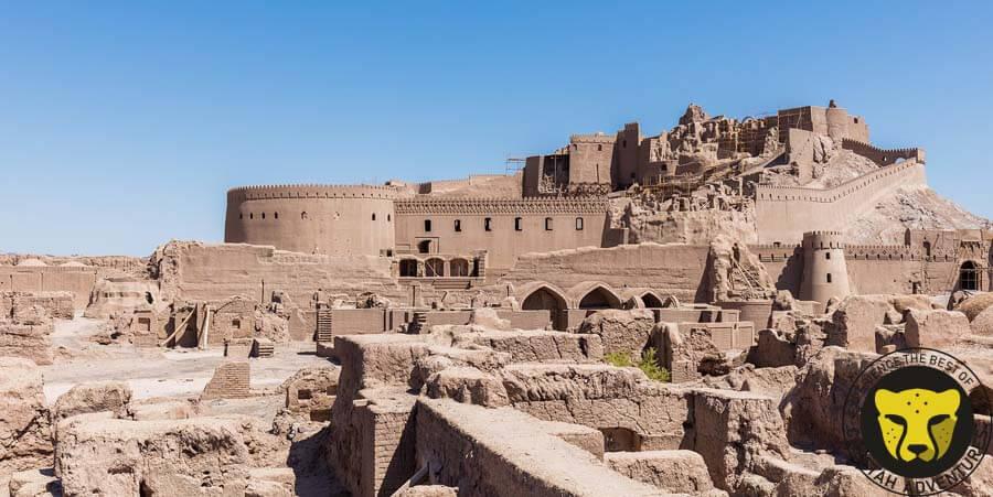 arg e bam kerman travel guide iran tour package Cheetah adventures visit iran tour package travel iran trip