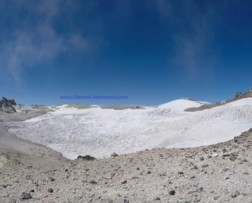 Damavand Volcanic Crater- mount damavand mountain trekking tour