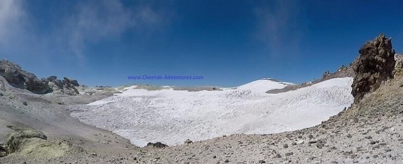 Damavand Volcanic Crater- mount damavand mountain trekking tour