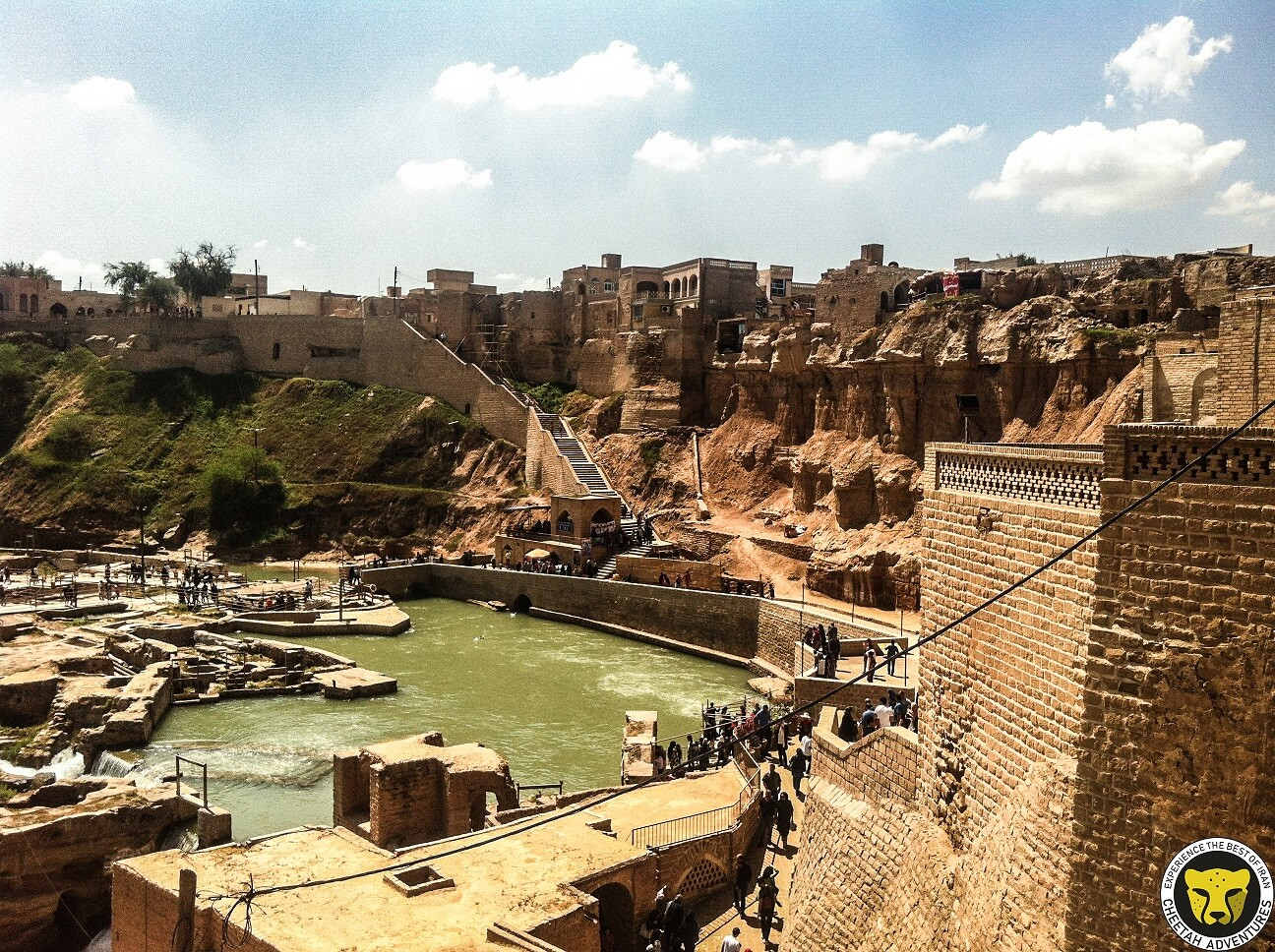 Shushtar Historical Hydraulic System Khuzestan visit iran tour travel guide attractions things to do destinations Cheetah adventures
