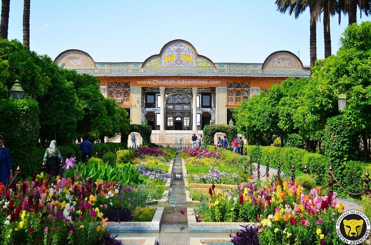 The Persian Garden Ghavam Garden visit iran tour travel guide attractions things to do destinations Cheetah adventures