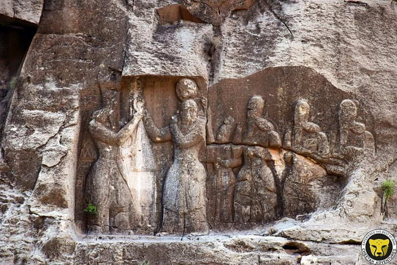 Ardashir Investiture Relief visit iran tour travel guide attractions things to do destinations Cheetah adventures