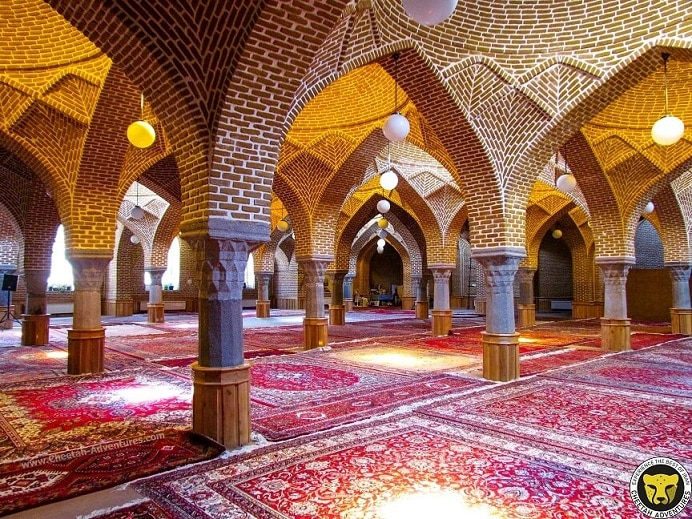 Jame mosque of Tabriz (Masjed-e Jameh) visit iran tour travel guide attractions things to do destinations Cheetah adventures