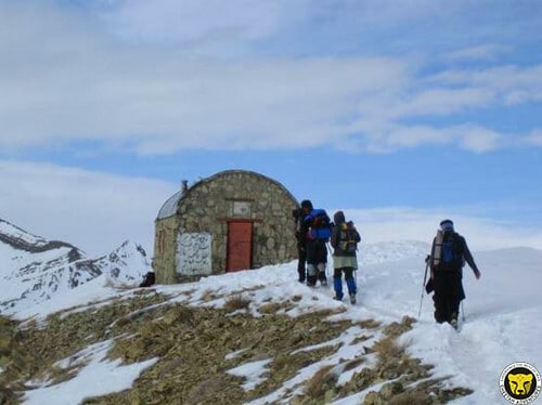 Dar Abad shelter Mount Tochal tehran iran mountain trekking tour iran travel guide attractions things to do destinations Cheetah adventures