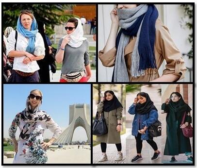 Iran Dress Code iranian dos donts wear female women hijab style custom 2