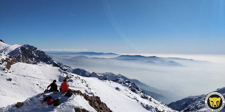 Mount Tochal tehran iran mountain trekking tour iran travel guide attractions things to do destinations Cheetah adventures