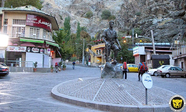 Darband square tehran iran mountain trekking tour iran travel guide attractions things to do destinations Cheetah adventures