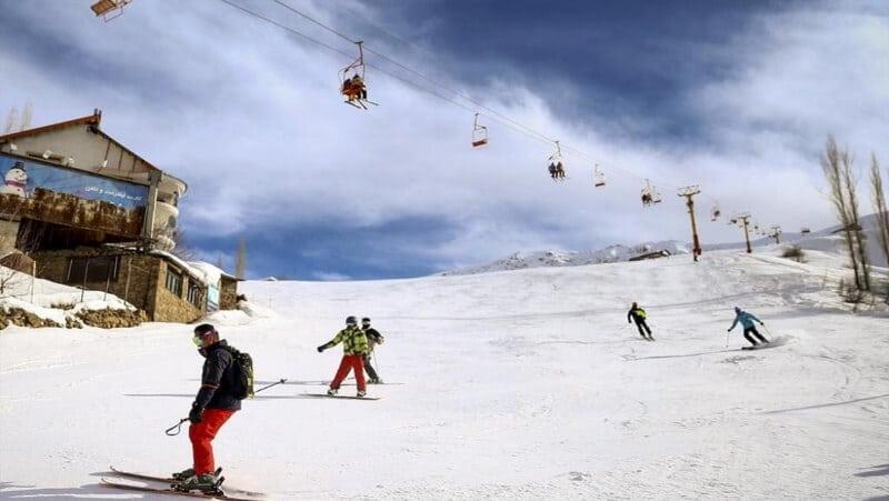 shemshak ski resort iran ski resorts skiing in iran dizin shemshak tochal iran ski tour 2 31
